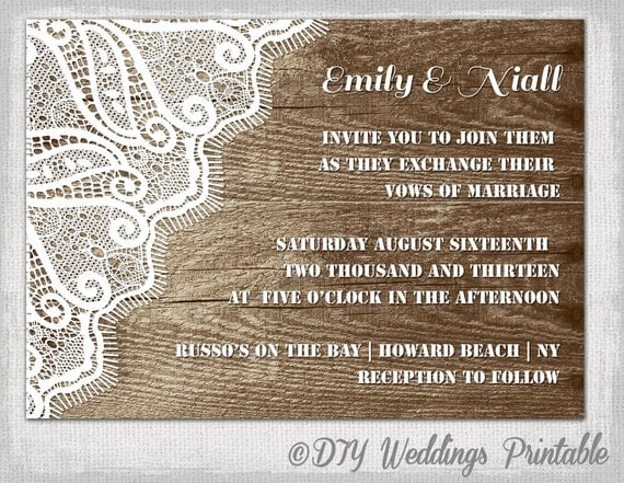 4x6 invitation template