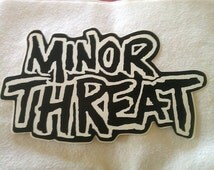 Unique Minor Threat Related Items Etsy