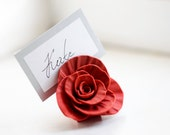 Place Card Holders - 50 Handmade Roses - LilisInspiration