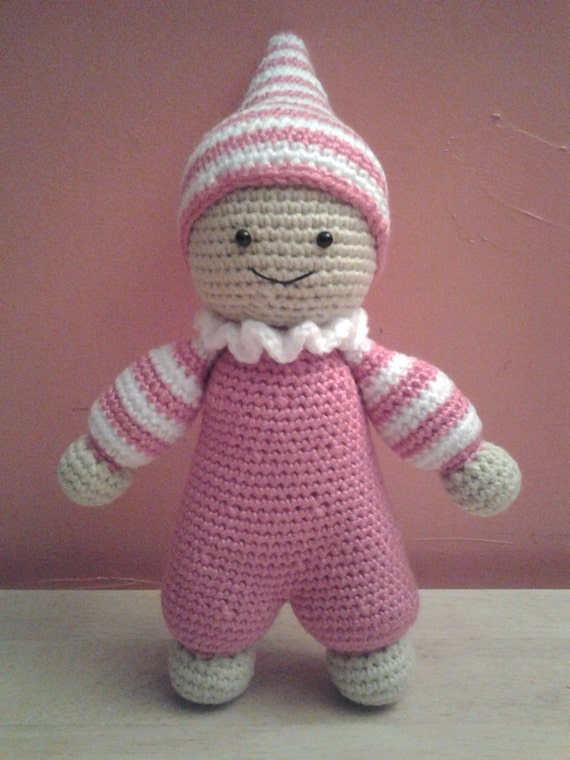 Crochet Amigurumi For Baby : PIXIE the Baby Doll Crochet Amigurumi Crochet Baby Doll