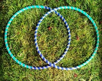 Custom Taped Polypro Twin Mini Hula Hoops
