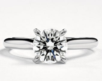 1895 Style Solitaire Engagement Ring