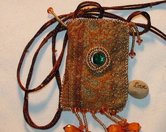 Amulet/Prayer Pouch Necklace