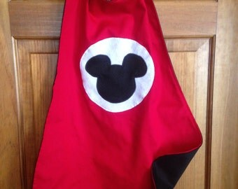 MICKEY MOUSE Kids Superhero Cape/Costume