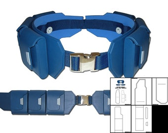 Template for Captain America Utility Belt