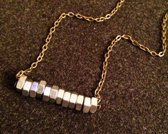 Steampunk Nut necklace
