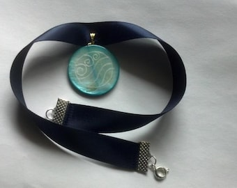 REJECT Katara water tribe inspired necklace