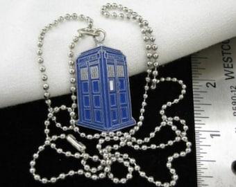 TARDIS Pendant Necklace