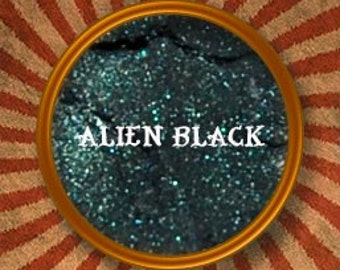 Alien Black Mineral Eyeshadow-Made in the USA