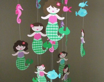 Custom Mobiles Made to Order - Customize your Mobile to Match Your Nursery or Room Decor!