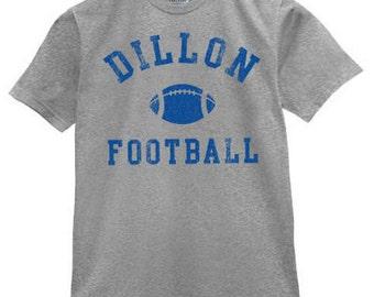 Dillon High Panthers  Football School Friday Night Lights T Shirt  Grey team uniform school pride