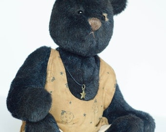 Black Mohair Bear