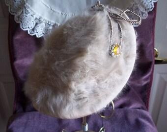 Dale Kelly Ladies' Rabbit Fur Bonnet