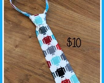 Little Boy Neck Tie Robot / Necktie