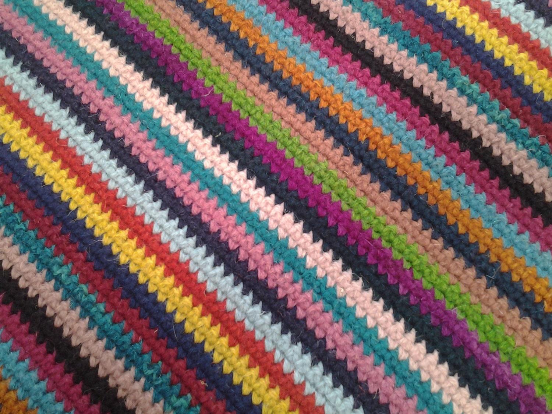 Crochet Square RugRectangular Rug 180 cm130 cmCrochet