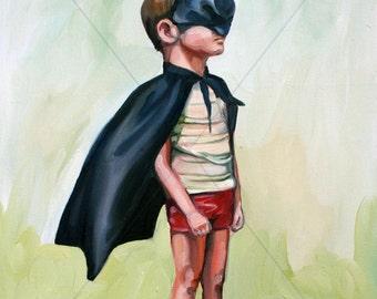 """Fine art Giclée print """"Avenger"""" by Antonia Sanker"""