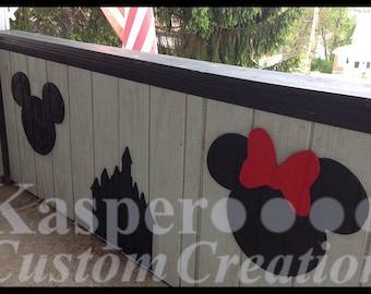 Outdoor Disney inspired designs