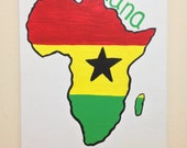 Ghana, Africa Painting