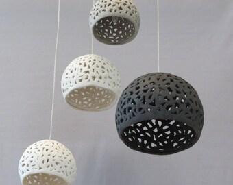 4 Ceiling Lighting chandelier .Pendant lighting. Hanging pendant. Hanging lampshades. Ceiling lamp.