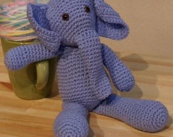 Handmade Crochet Elephant