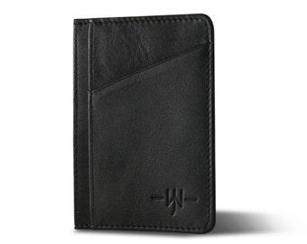 The Shetland - Slim Wallet : Black