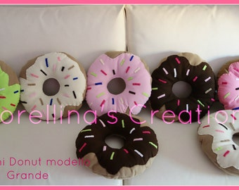 Pillow Donuts Big Size ( choose in your colour) 40 CM