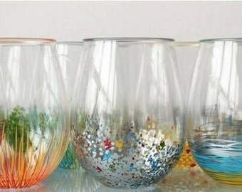 Custom Stemless Glasses