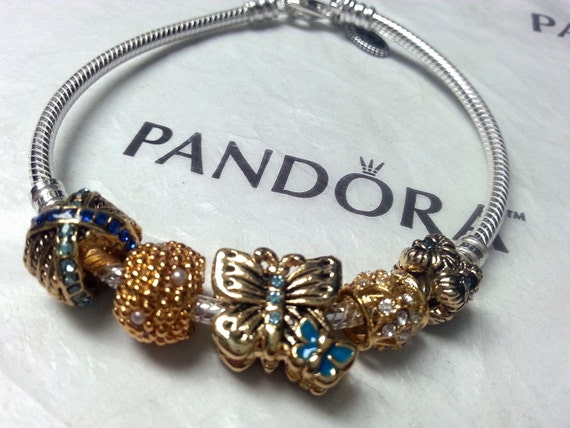 items similar to authentic pandora or pugster bracelet. Black Bedroom Furniture Sets. Home Design Ideas