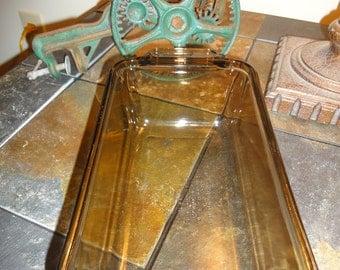 Lovenware Loaf Pan/Vintage Lovenware/Vintage Kitchen/Vintage Glass Loaf Pans