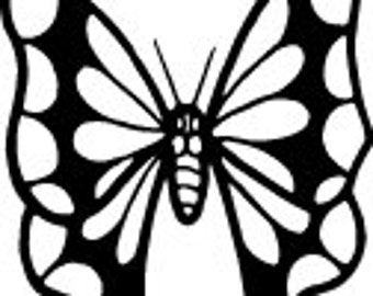 Butteryfly Decal