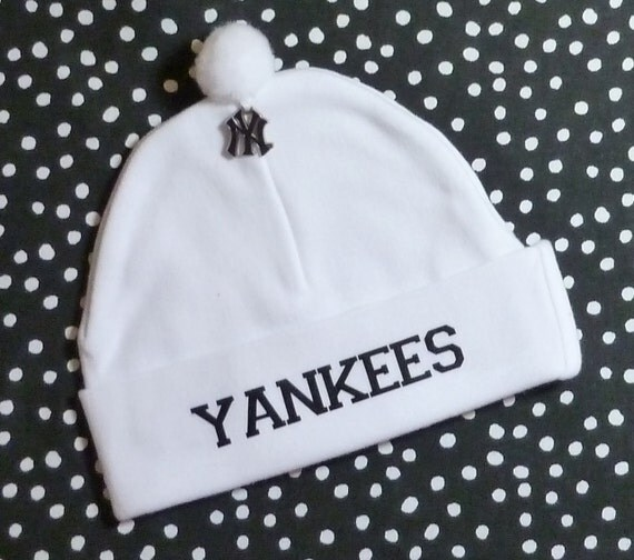 Newborn Baby Hat For The New York Yankees Fan Infant Cap Ny
