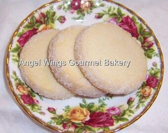 Shortbread Cookies 2 dozen Gourmet Butter Cookies
