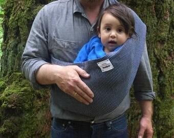 Baby Sling - Engineer Stripe - Small, Medium, Large, Baby Carrier