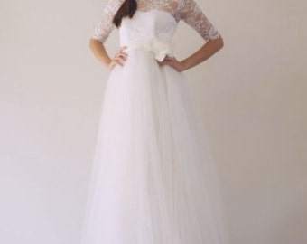 SAMPLE GOWN - Angel Gown