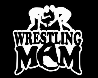 Wrestling Stickers Etsy