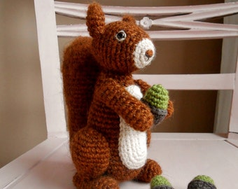 Crochet pattern Benjamin the squirrel (Dutch