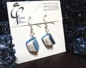PaperBook earrings - 1712 Lagoon