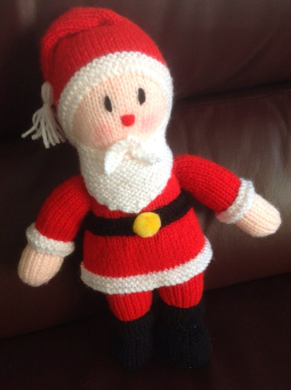 Knitted Santa Claus Father Christmas