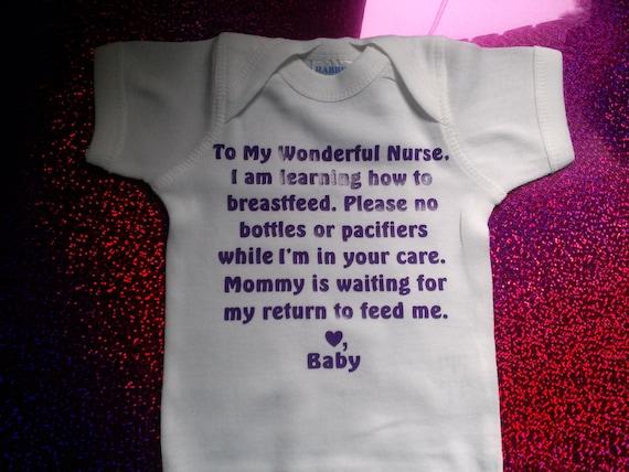Breastfeeding Onesie!