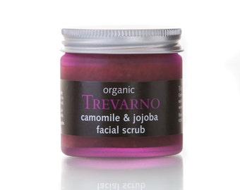Organic Trevarno Camomile & Jojoba Facial Scrub