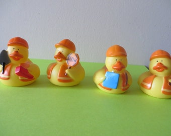 Construction Crew rubber ducks - Perfect for your little construction worker!