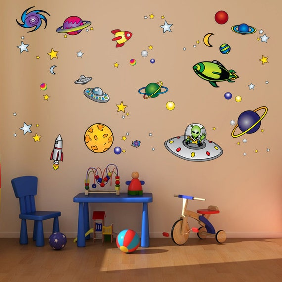 Items Similar To Outer Space Room Decoration For Kid 39 S