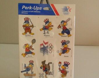 1984 LA Summer Olympics Sam the Eagle Stickers