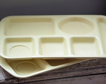 School Lunch Tray, Proloneware by Vistron Butter Yellow