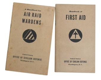 1941 First Aid Air Raid booklet