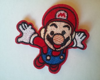 Super Mario Flying applique iron on patch
