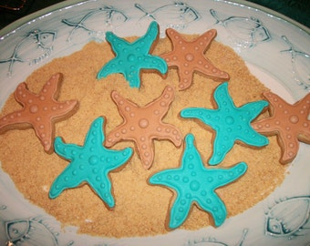 Starfish Cookies - custom made