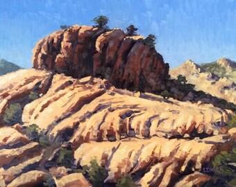 Granite Dells, Prescott Arizona 9x12 Landscape Oil Painting