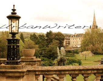 Bath England park photograph