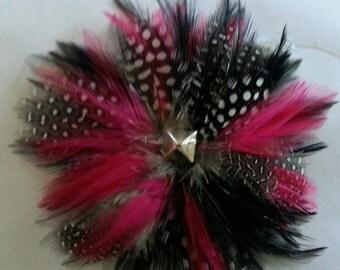 Punk stud Hair clip